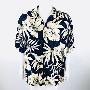 Tori Richard Short Sleeve Button Down Shirt XXL